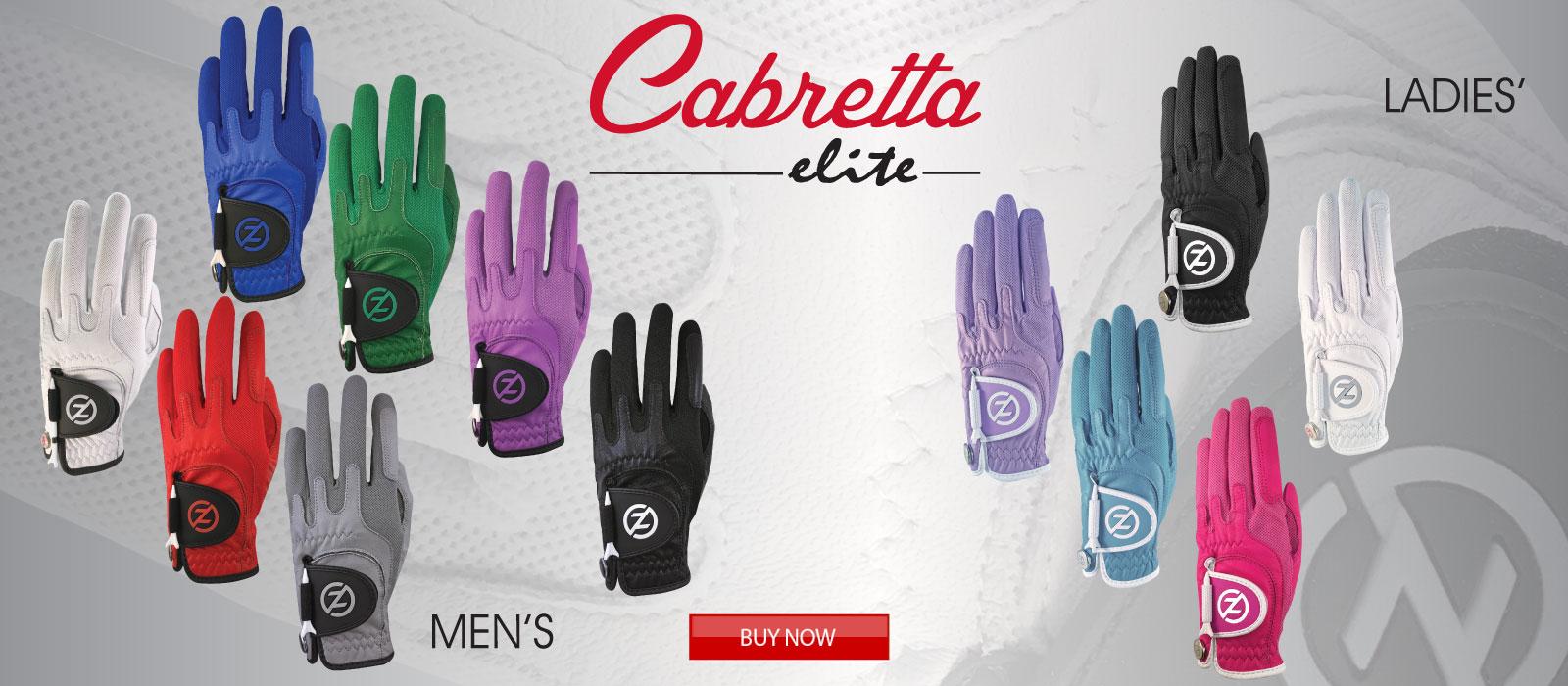 Cabretta Elite Golf Gloves